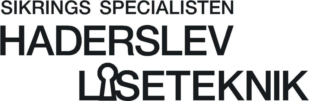 Haderslev låseteknik logo